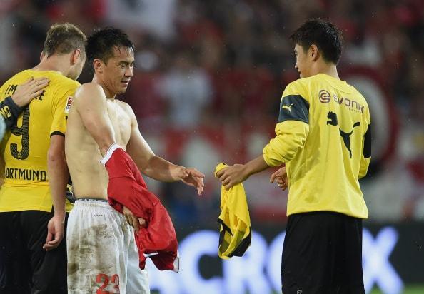 欧州でプレイする日本人選手を刺激