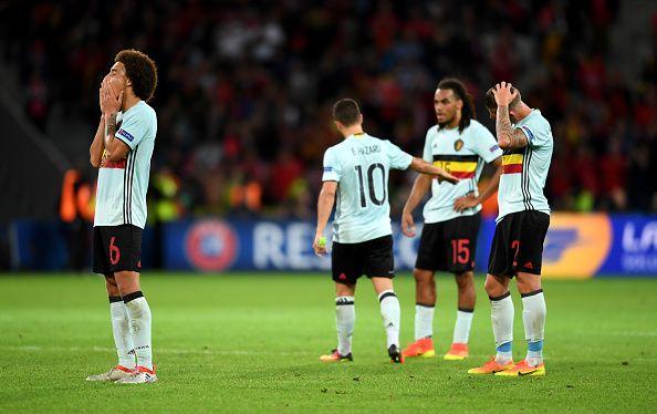 ベスト8で敗れたベルギー