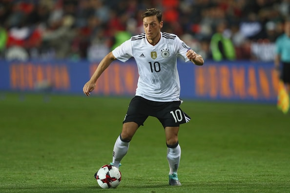 ドイツ代表のエジル photo/Getty Images