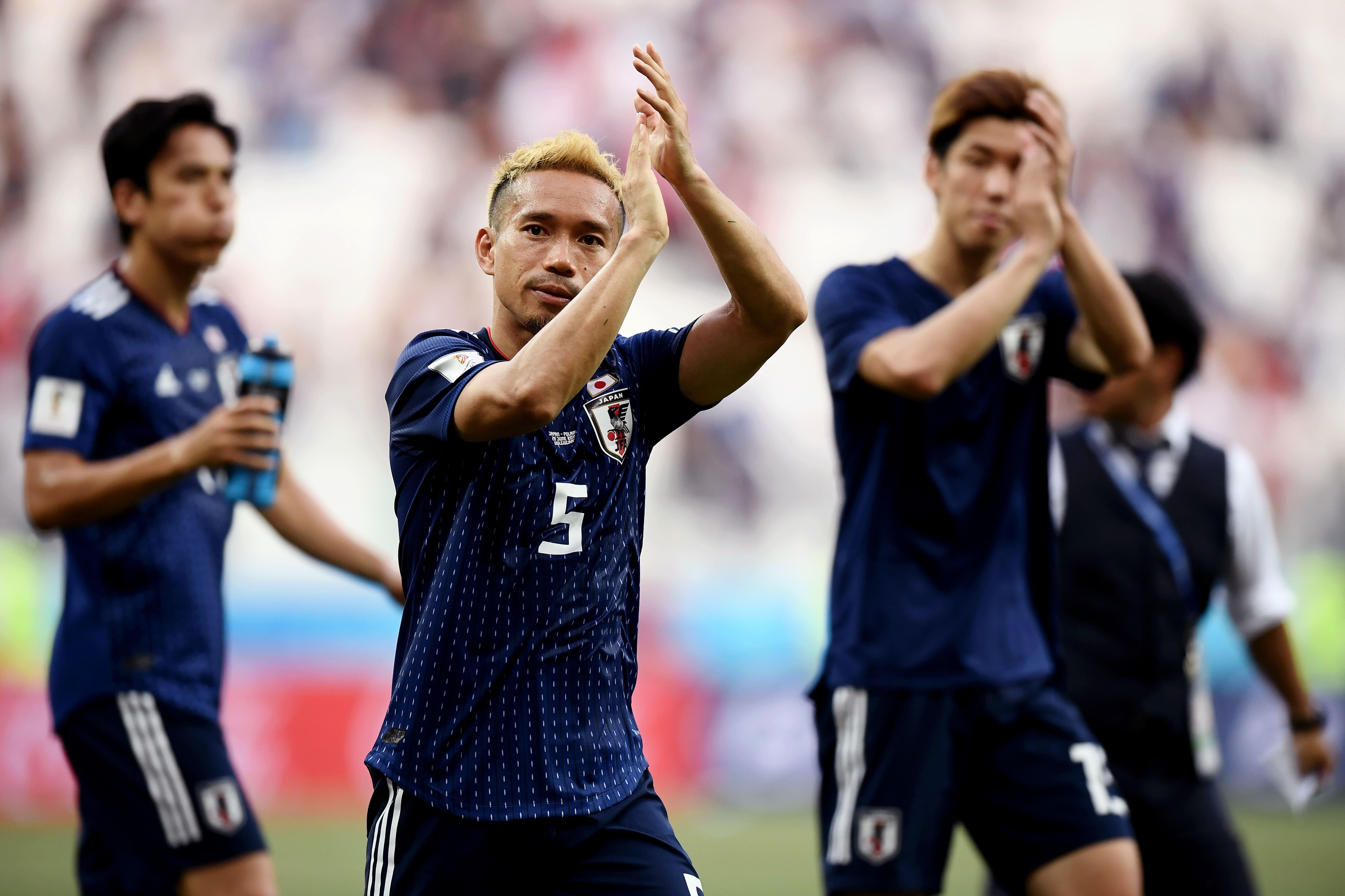 集中力を保った日本 GK川島も渾身のセーブ