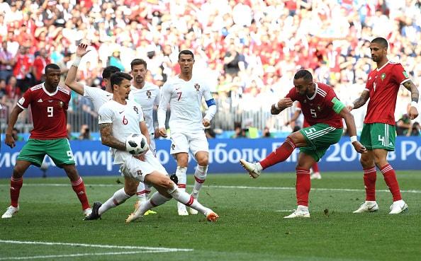 ポルトガルの速攻が機能 モロッコは拙攻を改善できず