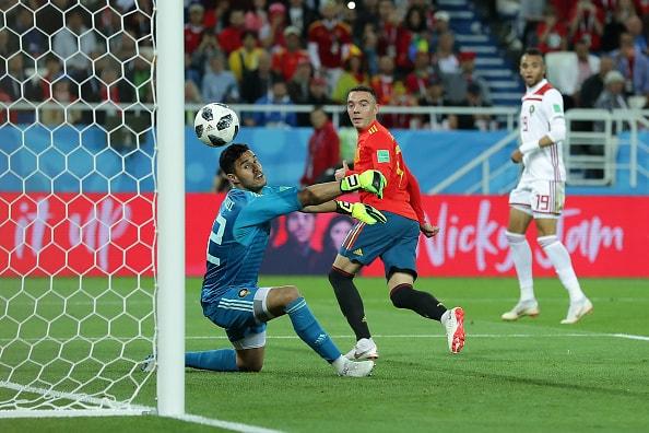 スペインの強みは左サイドにあった
