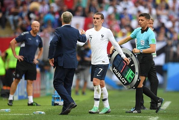 決勝トーナメントを見据え6名を入れ替えたフランス