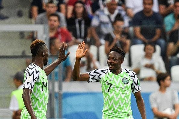 新2トップで臨んだナイジェリア 前半は攻撃が停滞