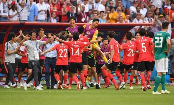 韓国が均衡を破った 後半ATに2発!