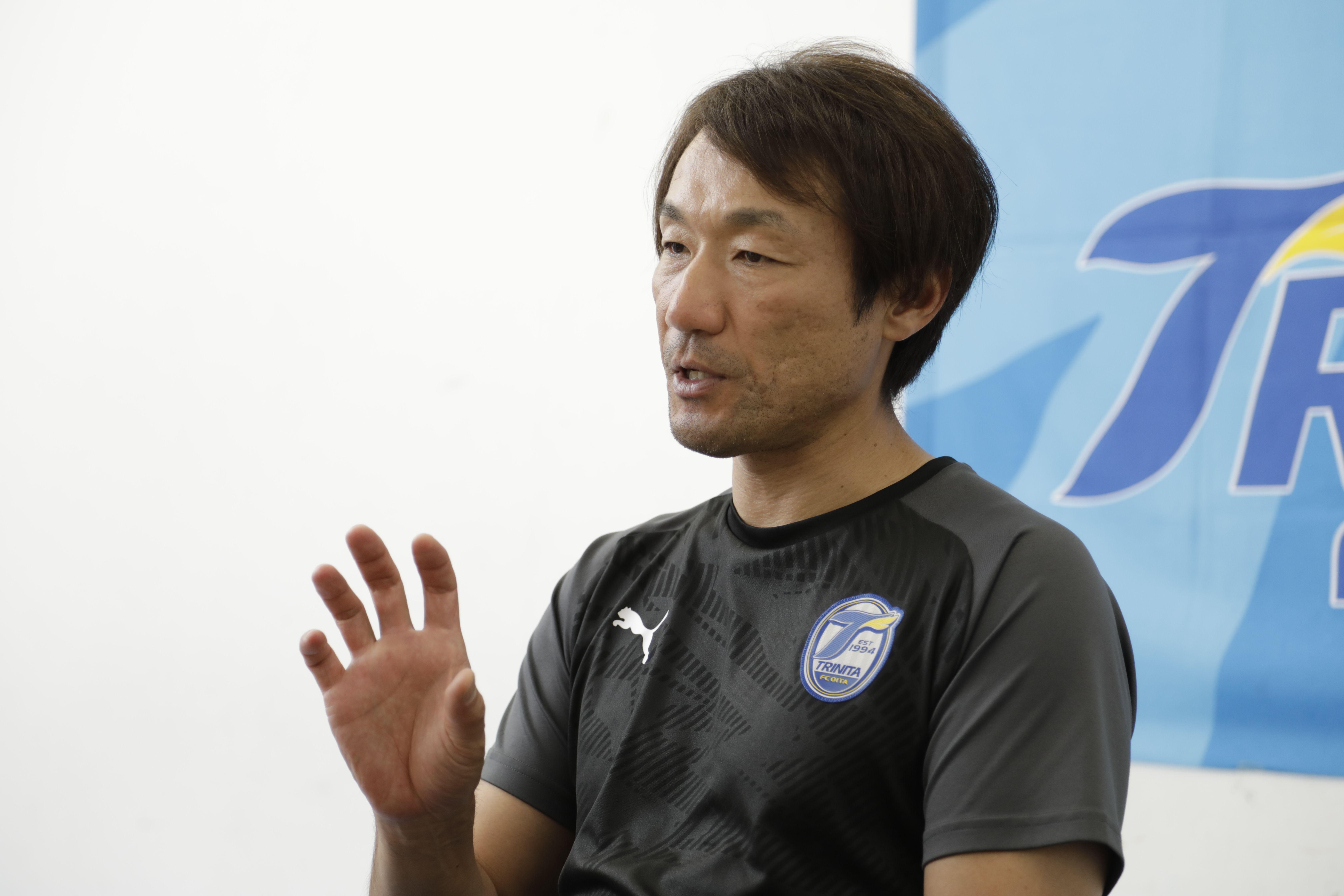 九州全体のサッカーを引っ張る存在になりたい
